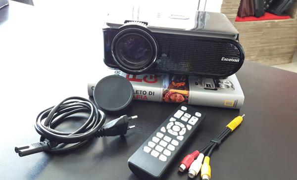 Unboxing proiettore Excelvan EHD02