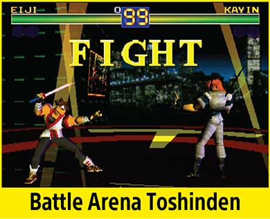 Battle Arena Toshinden per PlayStation Classic