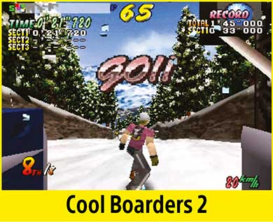 Cool Boarders 2 per PlayStation Classic