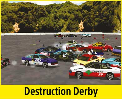 Destruction Derby per PlayStation Classic