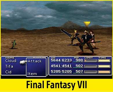 Final Fantasy VII per PlayStation Classic