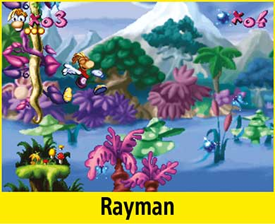Rayman per PlayStation Classic