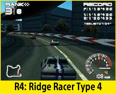 Ridge Racer Type 4 per PlayStation Classic