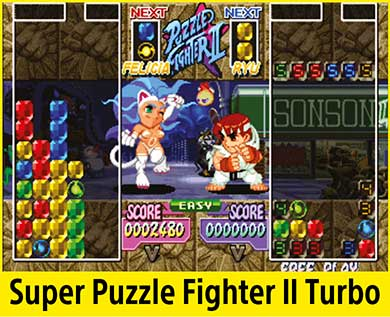 Super Puzzle Fighter II Turbo per PlayStation Classic