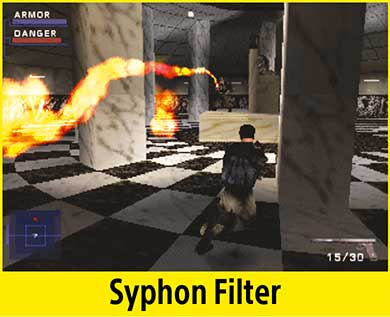 Syphon Filter per PlayStation Classic