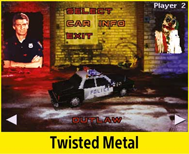 Twisted Metal per PlayStation Classic