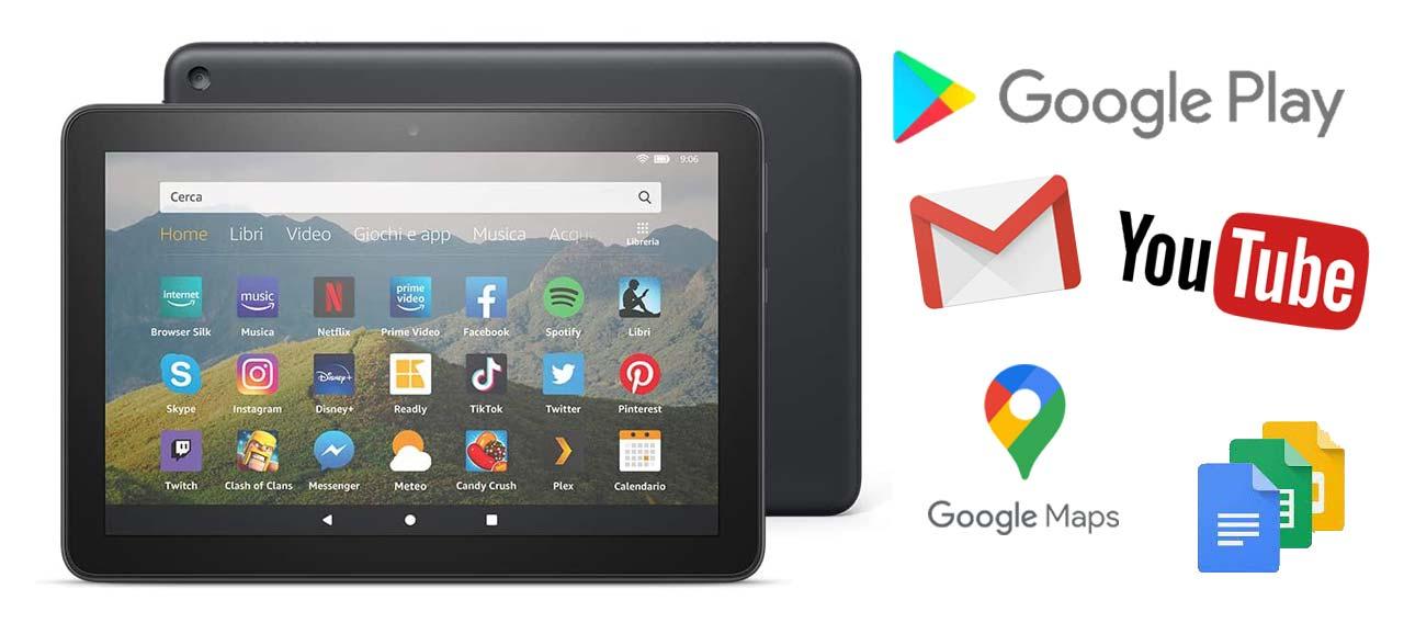 Come installare il Google Play Store sull'Amazon Fire HD 8 2020
