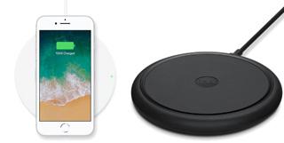 Caricatori wireless iPhone Belkin e mophie