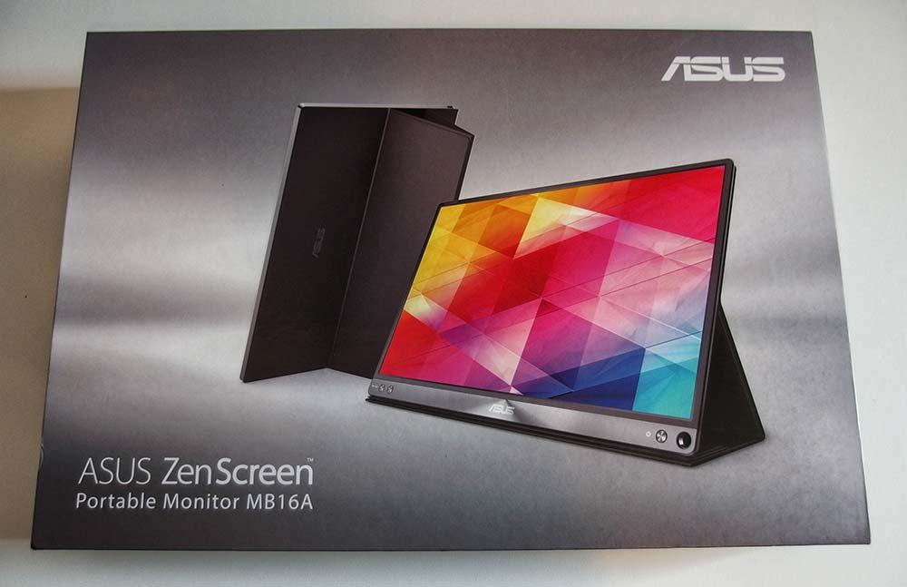 Confezione ASUS Zenscreen MB16AC