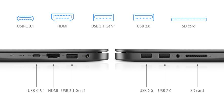 Connettività Asus Zenbook UX530UX