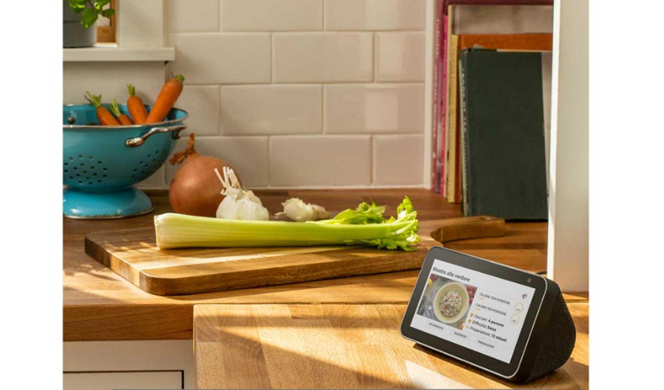 Cucinare con Alexa Echo Show 5