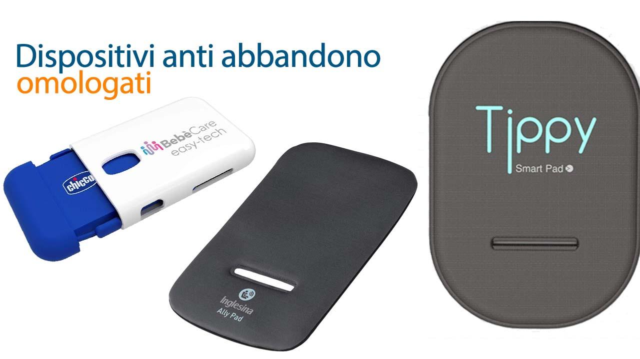 Dispositivi anti abbandono omologati: quale scegliere