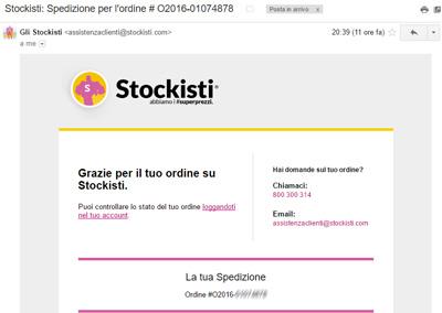 Gli Stockisti: spedizione Nexus 5X