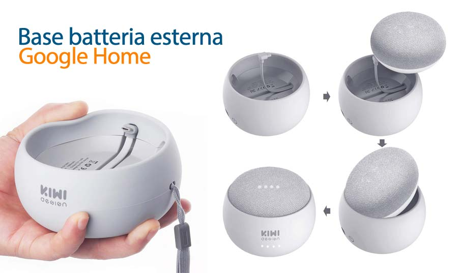Google Home Mini batteria