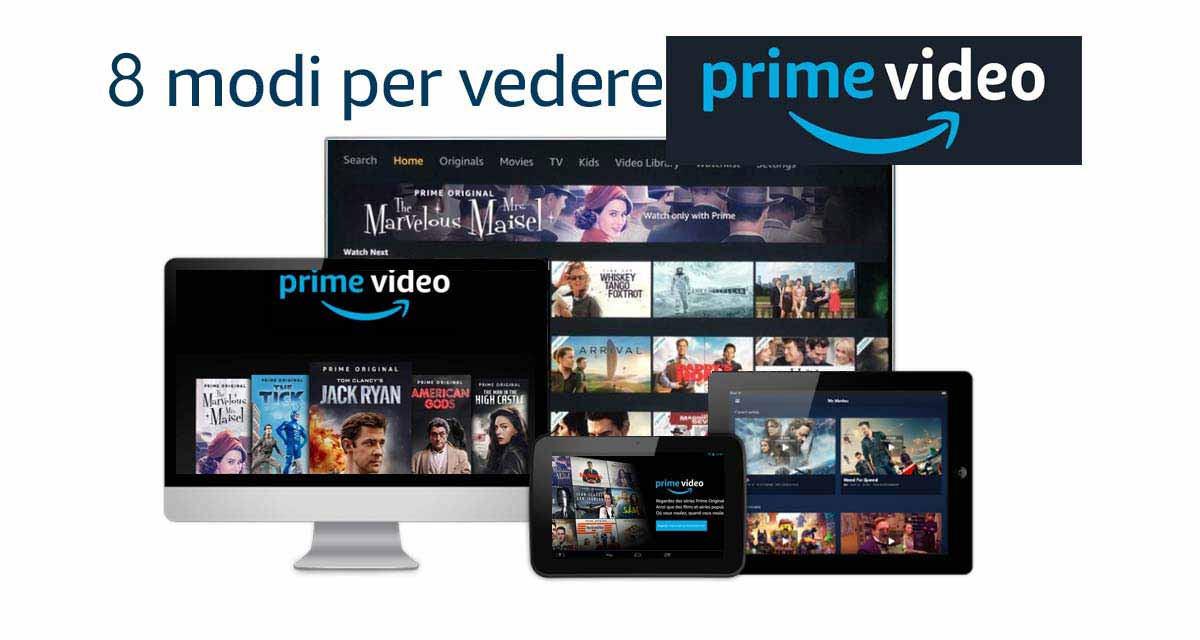I dispositivi tramite i quali si può collegare Amazon Prime Video alla TV