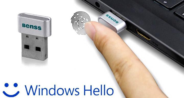 Lettore impronte digitali USB Benss
