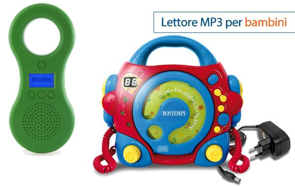 Lettore MP3 per bambini
