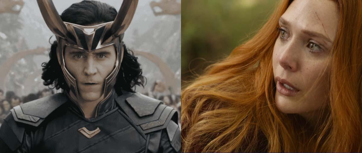 Loki e Wanda Maximoff