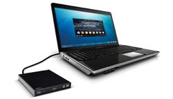 Masterizzatore esterno connesso ad un portatile