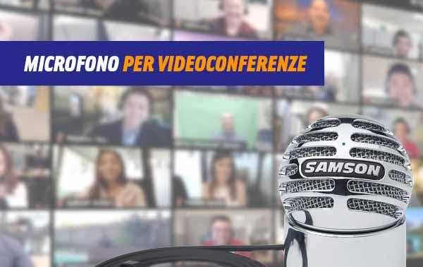 Microfoni per videoconferenze