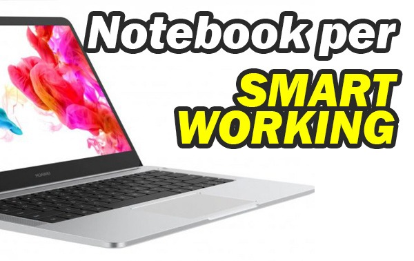 Notebook per lo smart working