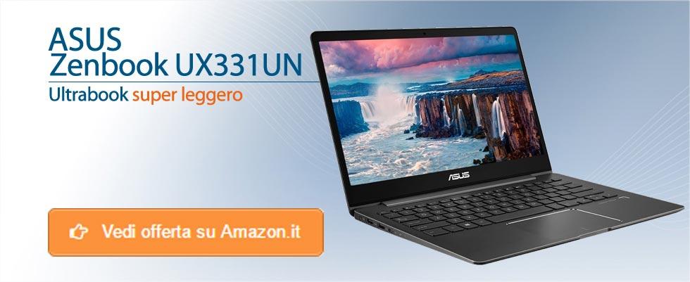 Offerte Asus Zenbook UX331UN