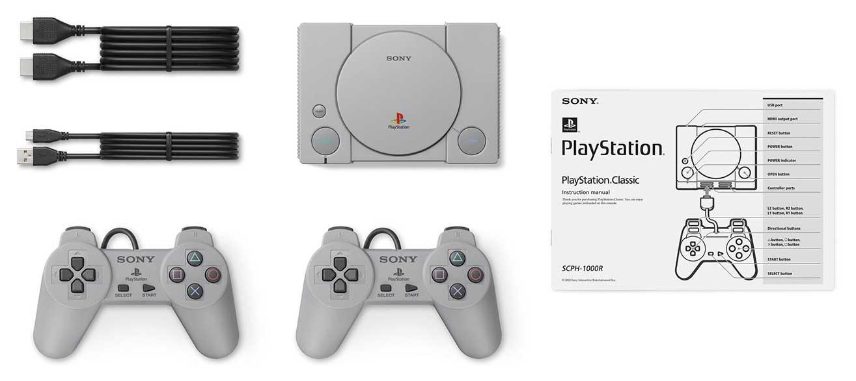 PlayStation Classic contenuto confezione