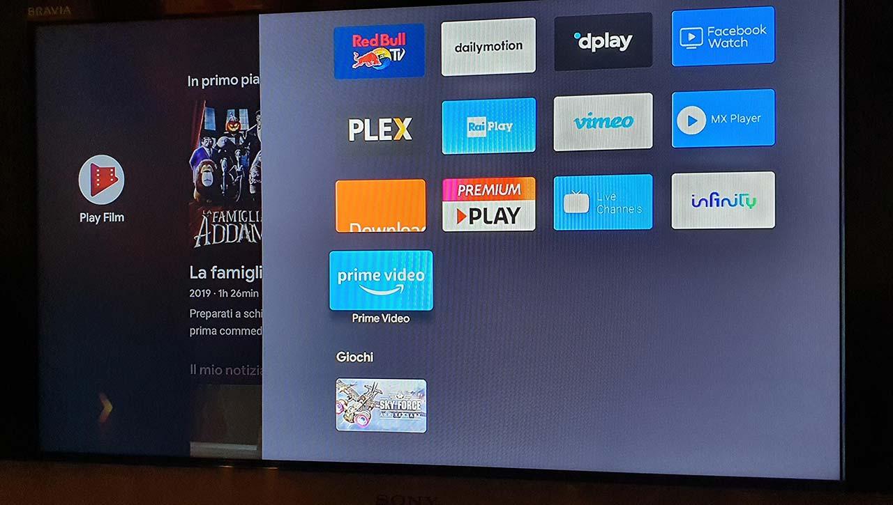 Prime Video su Android box TV