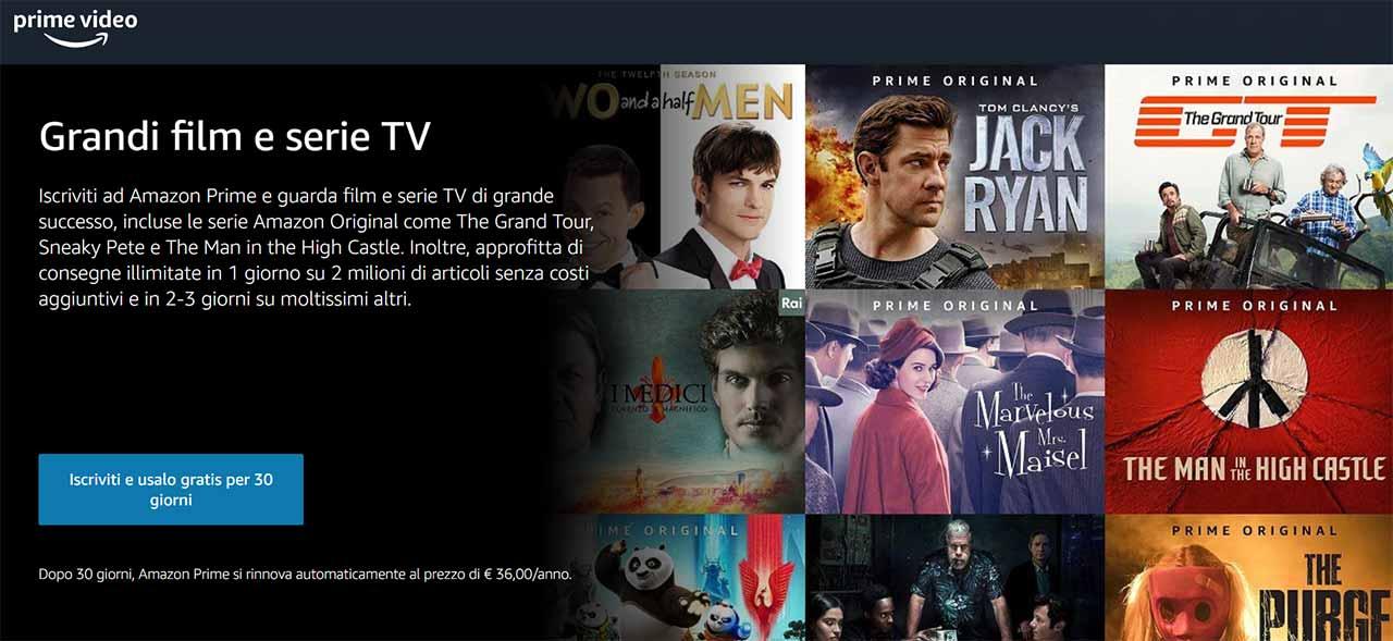 Quanto Amazon Prime Video