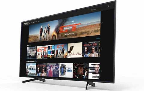 TV Amazon Prime Video Sony Bravia KD-43XG7005
