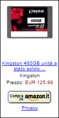 Offerta Kingston SSDNowV300 480 GB