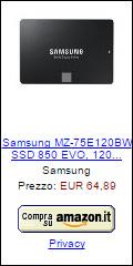 Offerta SSD Samsung 850 EVO 120 GB
