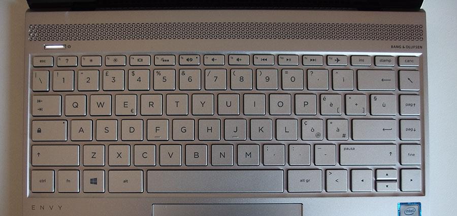 Tastiera HP Envy 13-ad102nl