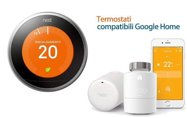 Termostati Google Home